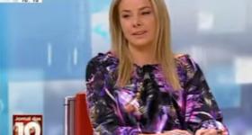 Tamara Milagre comenta as notícias de domingo na SIC Notícias