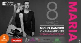 No dia 08 de Março, pelas 21:30, Miguel Gameiro