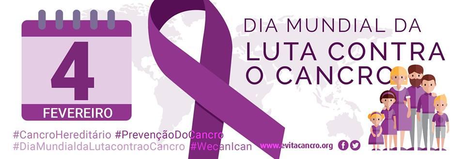 4 de Fevereiro, é o Dia Mundial da luta contra o Cancro …